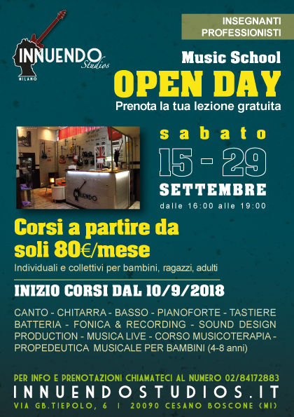 OPENDAY 2018